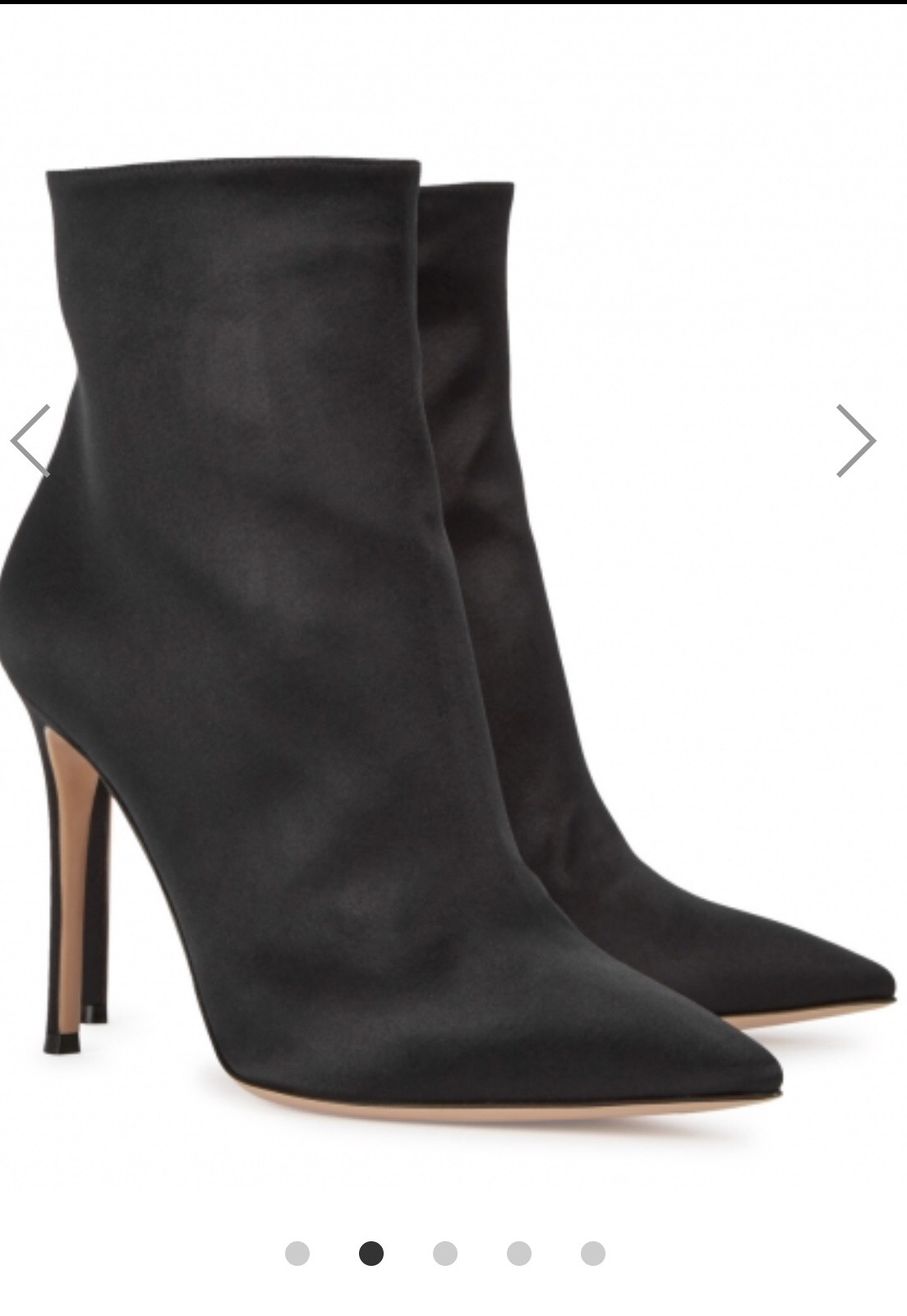 9ab4ae569d2 SHOES  Gianvito Rossi https   www.harveynichols.com brand  gianvito-rossi 228054-arles-black-satin-ankle-boots p2991940
